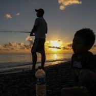 Sunrise fishing in Amed, Bali