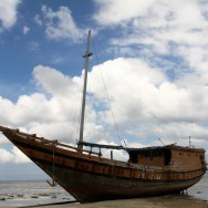 Old ship, Sulawesi