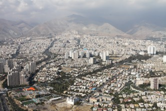View of Tehran from the Milad Tower