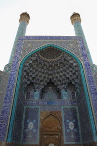 Shah Mosque entrance